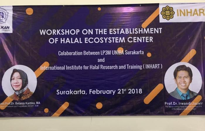 Establishment of Halal Ecosystem Center 2018
