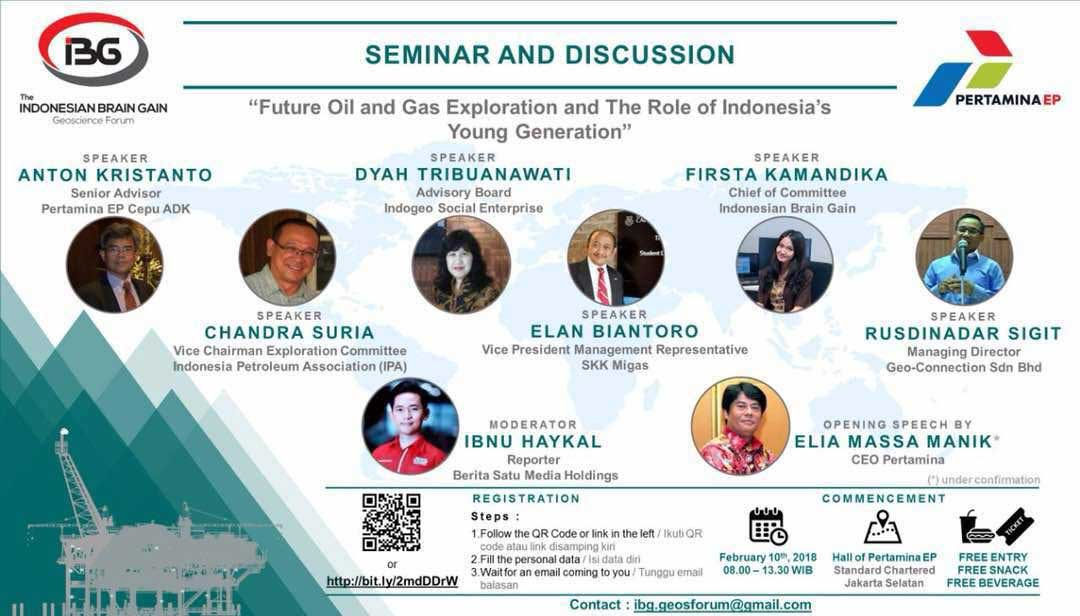 FUTURE OIL & GAS EXPLORATION: The Roles Of Young Generation 2018